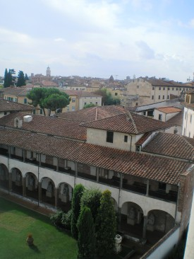 Pisa a Ferde toronyból