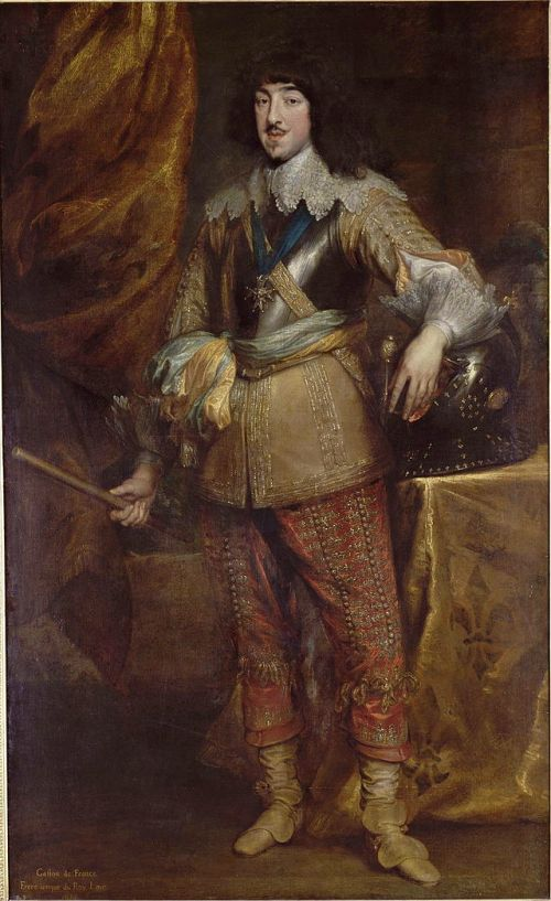 7 van Dyck Gaston_de_France_1634