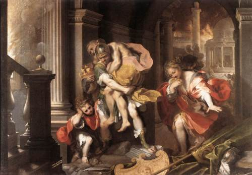 3 Flight_from_Troy_by_Federico_Barocci 1598