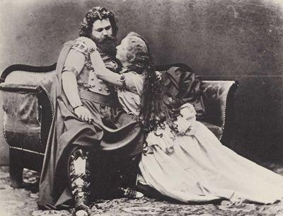6 Ludwig Ferdinand (1836 - 1865) Schnorr von Carolsfeld és Malvina (Garrigues) (1825 – 1904) Schnorr von Carolsfeld Joseph Albert (1825 - 1886) fényképe 1865-bol